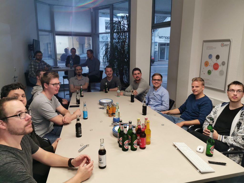 Start der Projektgruppe: Gemeinsames Kennenlern-Grillen in Cloppenburg